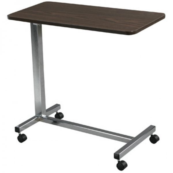 Non Tilt Top Overbed Table for sale