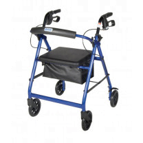 Rollator with Fold Up and Removable Back Support